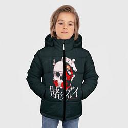 Куртка зимняя для мальчика Безумный азарт цвета 3D-черный — фото 2