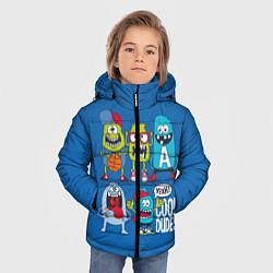 Куртка зимняя для мальчика Cool Dudes цвета 3D-черный — фото 2