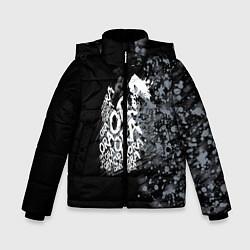 Куртка зимняя для мальчика JoJo цвета 3D-черный — фото 1
