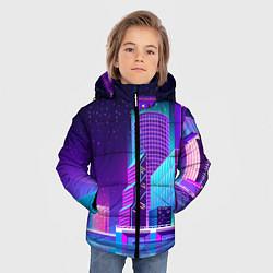 Куртка зимняя для мальчика Neon Nights цвета 3D-черный — фото 2
