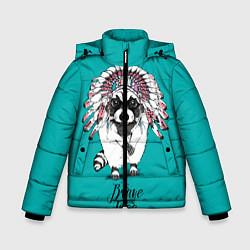 Куртка зимняя для мальчика Brave and Free цвета 3D-черный — фото 1