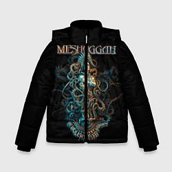 Куртка зимняя для мальчика Meshuggah: Violent Sleep цвета 3D-черный — фото 1