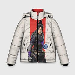 Куртка зимняя для мальчика Apex Legends: Wraith цвета 3D-черный — фото 1