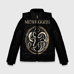Детская зимняя куртка для мальчика с принтом Meshuggah, цвет: 3D-черный, артикул: 10172781506063 — фото 1