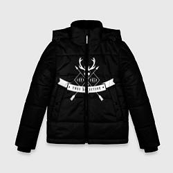 Куртка зимняя для мальчика True Detective: 1995-2012 цвета 3D-черный — фото 1