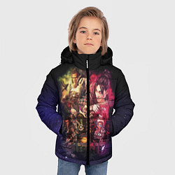 Куртка зимняя для мальчика Apex Legends: Stories цвета 3D-черный — фото 2