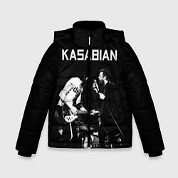 Куртка зимняя для мальчика Kasabian Rock цвета 3D-черный — фото 1