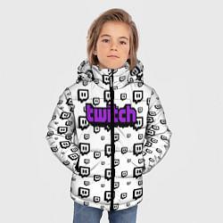 Куртка зимняя для мальчика Twitch Online цвета 3D-черный — фото 2