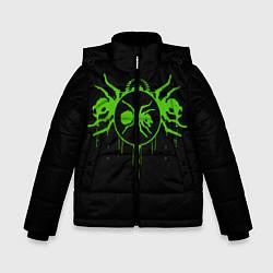 Куртка зимняя для мальчика The Prodigy: Acid Ants цвета 3D-черный — фото 1