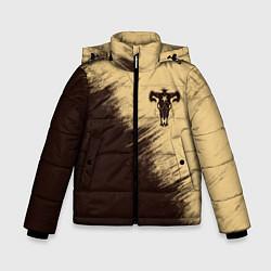 Куртка зимняя для мальчика Black Clover цвета 3D-черный — фото 1