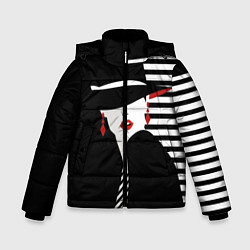 Детская зимняя куртка для мальчика с принтом Fashion, цвет: 3D-черный, артикул: 10180623106063 — фото 1
