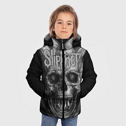 Куртка зимняя для мальчика Slipknot: Devil Skull цвета 3D-черный — фото 2