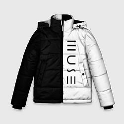 Куртка зимняя для мальчика Muse цвета 3D-черный — фото 1