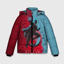 Куртка зимняя для мальчика Vision Duo цвета 3D-черный — фото 1