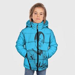 Куртка зимняя для мальчика T-Fest цвета 3D-черный — фото 2