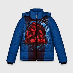 Куртка зимняя для мальчика Ant-man цвета 3D-черный — фото 1