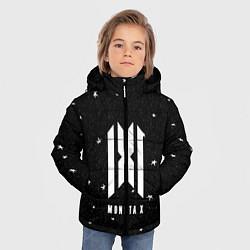Детская зимняя куртка для мальчика с принтом MONSTA X, цвет: 3D-черный, артикул: 10184586506063 — фото 2