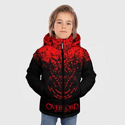 Куртка зимняя для мальчика Overlord цвета 3D-черный — фото 2