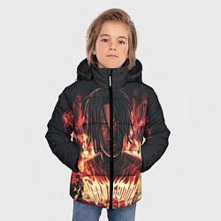 Куртка зимняя для мальчика KIZARU - Karmageddon цвета 3D-черный — фото 2