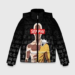 Куртка зимняя для мальчика SENPAI ONE PUNCH MAN цвета 3D-черный — фото 1