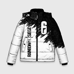 Куртка зимняя для мальчика RAINBOW SIX SIEGE цвета 3D-черный — фото 1