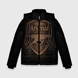 Куртка зимняя для мальчика Arsenal цвета 3D-черный — фото 1