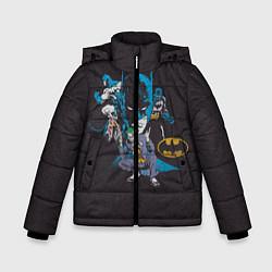 Куртка зимняя для мальчика Batman classic цвета 3D-черный — фото 1