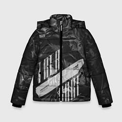 Куртка зимняя для мальчика Trea Sure Ateez цвета 3D-черный — фото 1