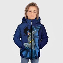 Куртка зимняя для мальчика Batman, Justice League цвета 3D-черный — фото 2