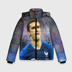Куртка зимняя для мальчика Антуан Гризманн цвета 3D-черный — фото 1