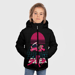 Куртка зимняя для мальчика Akirа цвета 3D-черный — фото 2