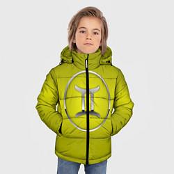 Куртка зимняя для мальчика Gemini Близнецы цвета 3D-черный — фото 2