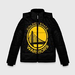 Куртка зимняя для мальчика GOLDEN STATE WARRIORS цвета 3D-черный — фото 1