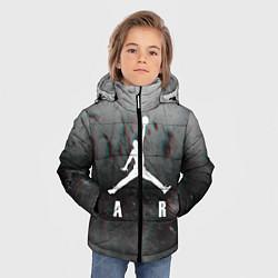 Куртка зимняя для мальчика JORDAN AIR SPACE цвета 3D-черный — фото 2