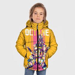 Куртка зимняя для мальчика Apex Legends Octane цвета 3D-черный — фото 2
