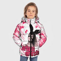 Куртка зимняя для мальчика ARIANA GRANDE цвета 3D-черный — фото 2