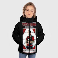 Куртка зимняя для мальчика Серега Есенин цвета 3D-черный — фото 2