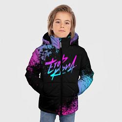 Куртка зимняя для мальчика ЕГОР КРИД цвета 3D-черный — фото 2