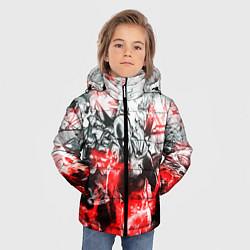 Куртка зимняя для мальчика One-Punch Man Collage цвета 3D-черный — фото 2