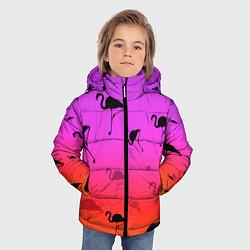 Куртка зимняя для мальчика Фламинго цвета 3D-черный — фото 2