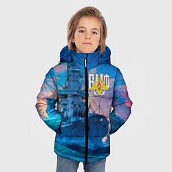Куртка зимняя для мальчика ВМФ цвета 3D-черный — фото 2