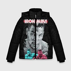 Куртка зимняя для мальчика Iron Mike цвета 3D-черный — фото 1