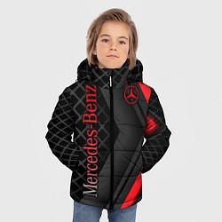 Куртка зимняя для мальчика Mercedes-Benz цвета 3D-черный — фото 2