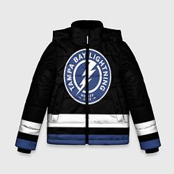 Куртка зимняя для мальчика Тампа-Бэй Лайтнинг цвета 3D-черный — фото 1