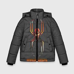 Куртка зимняя для мальчика BLACK WIDOW цвета 3D-черный — фото 1