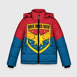 Куртка зимняя для мальчика Higher, Further, Faster - фото 1