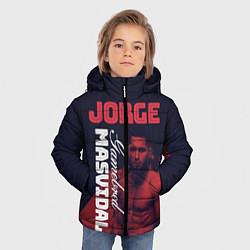 Куртка зимняя для мальчика Jorge Masvidal цвета 3D-черный — фото 2