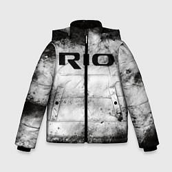 Куртка зимняя для мальчика KIA RIO цвета 3D-черный — фото 1
