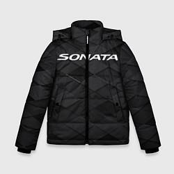 Куртка зимняя для мальчика HYUNDAI SONATA цвета 3D-черный — фото 1