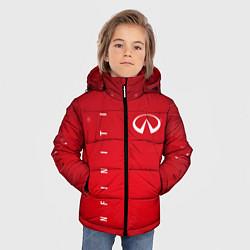 Куртка зимняя для мальчика Infinity цвета 3D-черный — фото 2